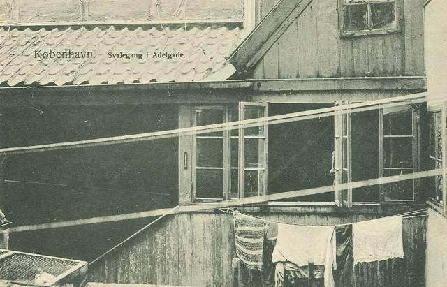 Svalegang i Adelgade - Frits Benzen nr.674 - ikke sendt.jpg-for-web-large