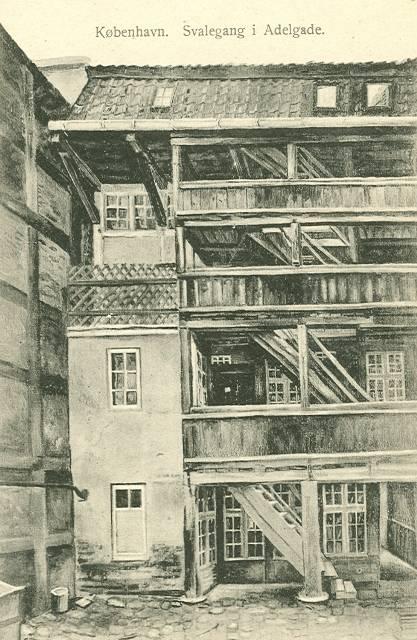 Svalegang i Adelgade - Fritz Benzen nr.589 - uden år.jpg-for-web-large