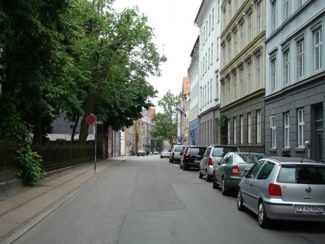 Åbenrå set fra Rosenborggade - Foto fra juni 2008