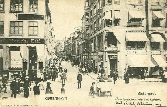 oestergade-postkort-nr-1263-set-fra-amagertorv-afsendt-i-1909