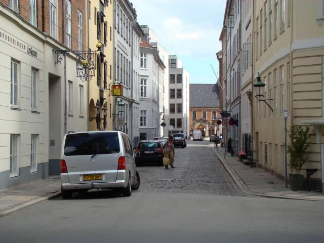 Admiralgade set fra Nikolaj Plads