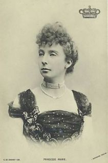 Amaliegade 18 - Toldbodgade 43a-g - Prinsesse Marie (1865-1909) - postkort fra 1905 - 6