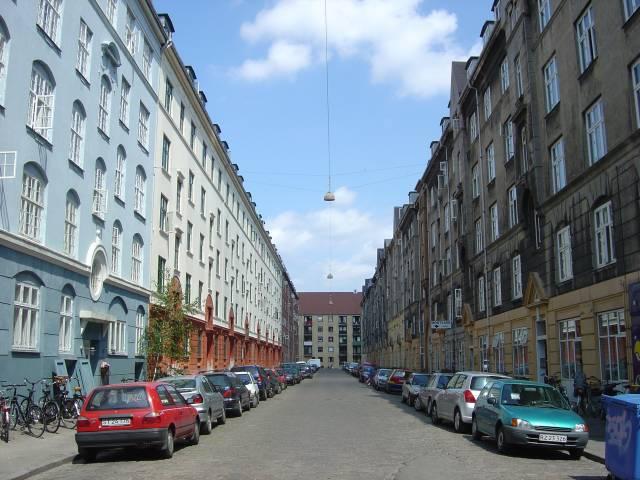 Andreas Bjørns Gade set fra Brobergsgade