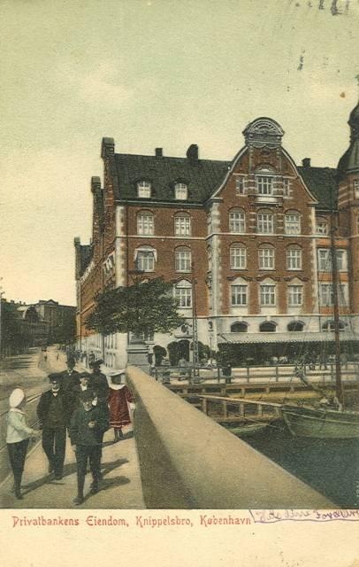 Børsgade 4-8 - Slotsholmsgade 1-3 - postkort 1