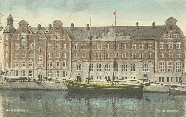 Børsgade 4-8 - Slotsholmsgade 1-3 - postkort 2