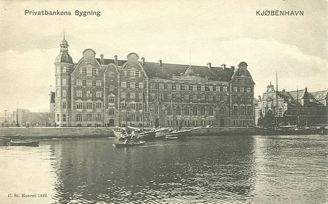Børsgade 4-8 - Slotsholmsgade 1-3 - postkort 3