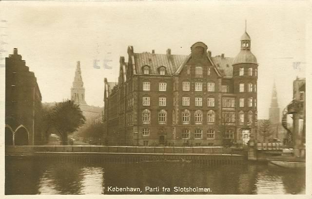 Børsgade 4-8 - Slotsholmsgade 1-3 - postkort 5