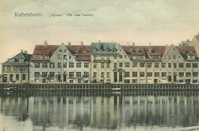 Børsgade 4-8 - Slotsholmsgade 1-3 - postkort 6