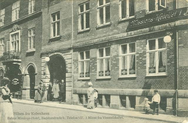 Badstuestræde - Bahns Missionshotel i Badstuestræde 9 - 3