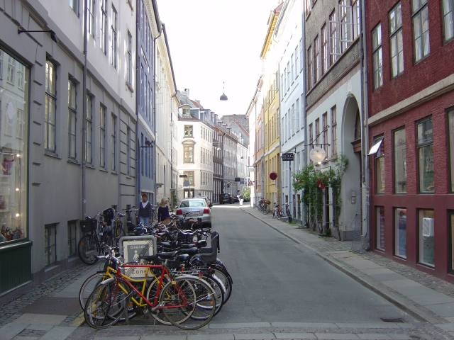 Badstuestræde set fra Kompagnistræde - 1