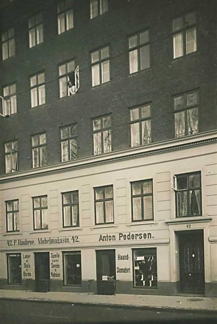 Borgergade 17a-f - Dronningens Tværgade 32-44 - postkort