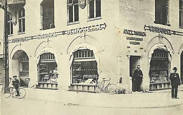 Bornholmsgade 1 - Esplanaden 1-3 - Store Kongensgade 116 - postkort