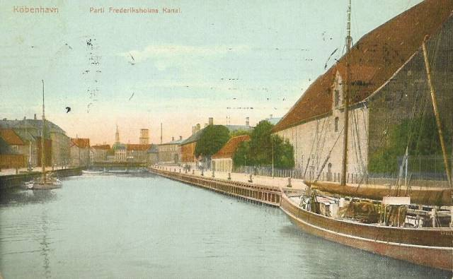 Christians Brygge 12 - Frederiksholms Kanal 29 - Tøjhusgade 3 - postkort 2