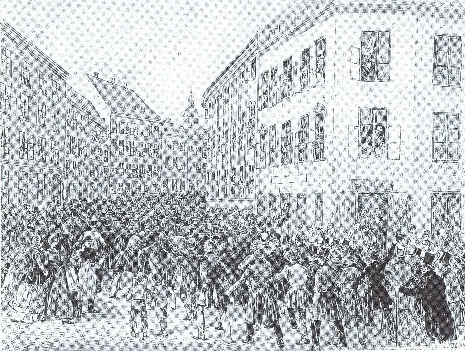 Folketoget den 21. marts 1848