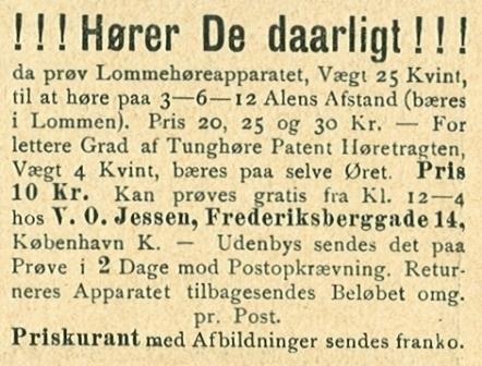 Frederiksberggade 14 - annonce