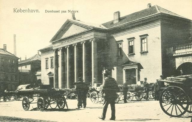 Frederiksberggade 7 - Kattesundet 13 - Nytorv 23-27 - postkort fra ca.1910