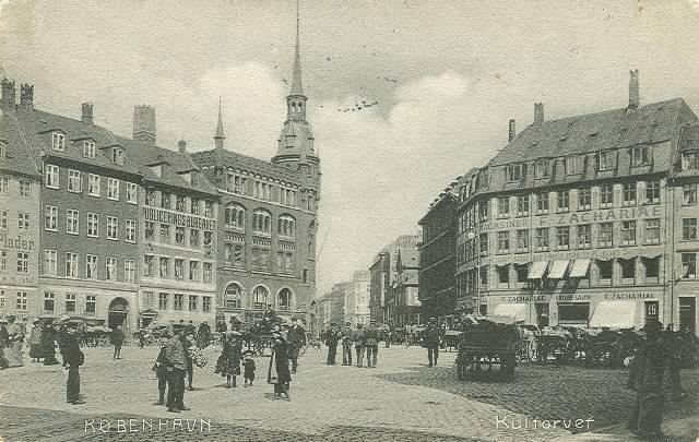 Frederiksborggade 1-1a-c - Kultorvet 17 - 8 - postkort