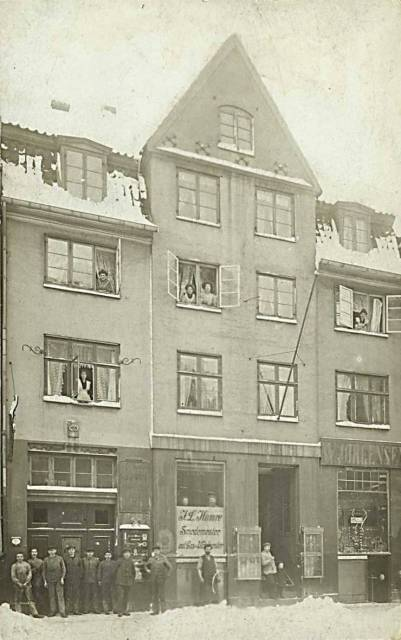 Gammel Mønt 19-19a - 7 - postkort fra ca.1915