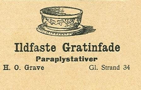 Gammel Strand 34 - 8 - Annonce fra Illustreret Tidende nr.1, 6.oktober 1907