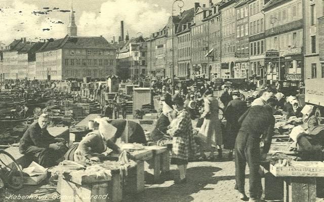 gammel-strand-postkort-gammel-strand-afsendt-i-1950