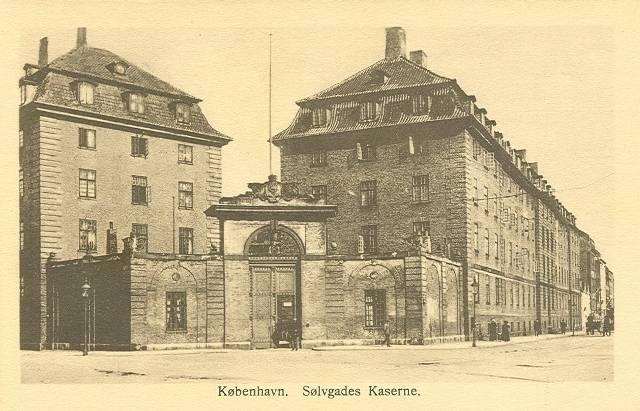 Georg Brandes Plads 2 - Sølvgade 40a-f - 10 - ældre postkort
