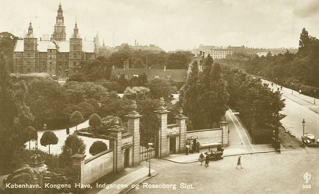 Georg Brandes Plads 3 - Gothersgade 60-76-78 - Kronprinsessegade 1-25 - Sølvgade 31 - 35 - ældre postkort