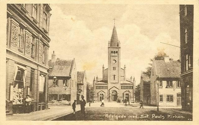 Gernersgade 33 - 21 - ældre postkort