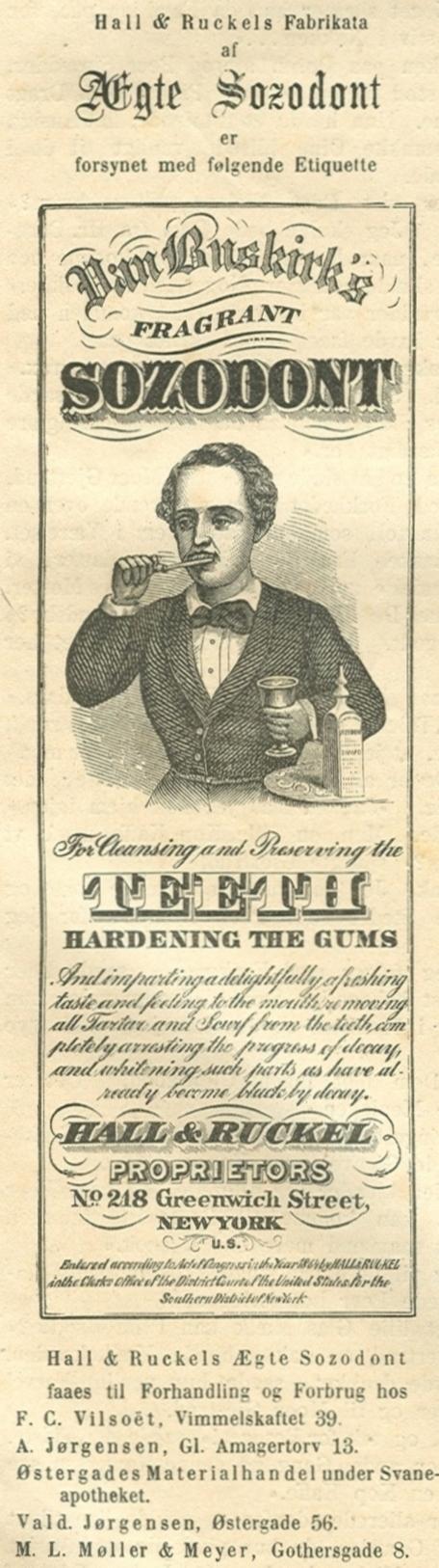 Gothersgade 8a-l - 30 - Annonce fra Illustreret Tidende nr.727, 31.august 1873
