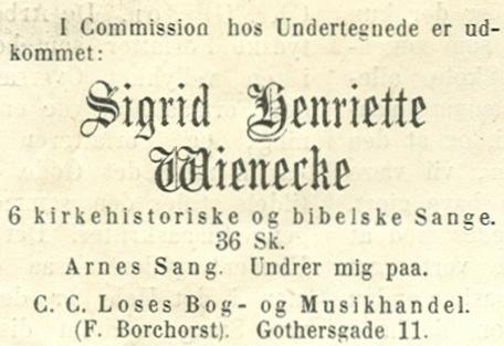 Gothersgade 9-11 - 8 - Annonce fra Illustreret Tidende nr.693, 5.januar 1873