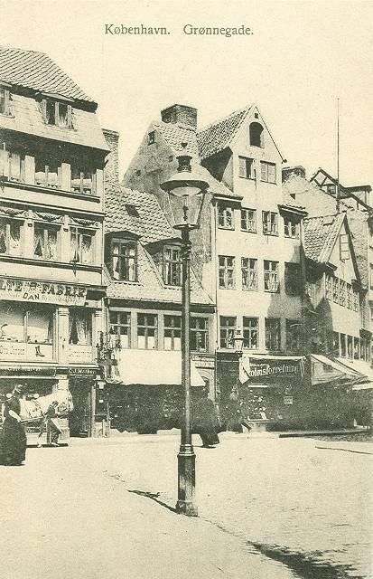 groennegade-postkort-nr-525-ca-1910