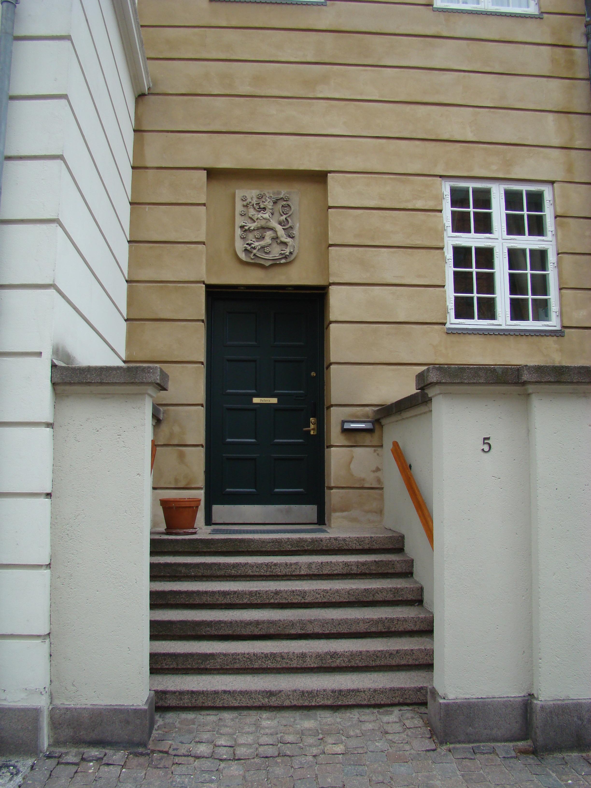 Grønningen 11-Hammerensgade 5-Jens Kofods Gade 6 - 8 indgangen fra Hammerensgade