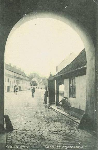 Grønningen 4 - Kastellet 1-110 - Nordre Toldbod 15-25 - 75 - ældre postkort
