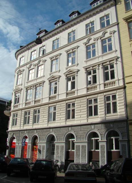 Heibergsgade 14 - Herluf Trolles Gade 1 - 4