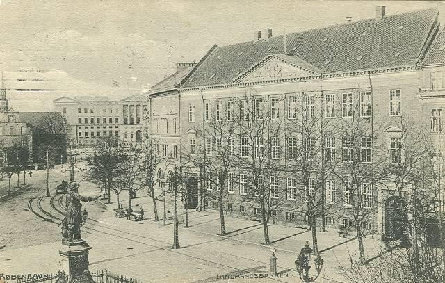 holmens-kanal-postkort-set-med-landmandsbanken-afsendt-i-1910