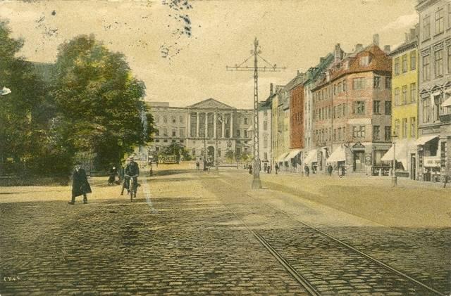 holmens-kanal-postkort-set-mod-det-andet-christiansborg-afsendt-i-1909