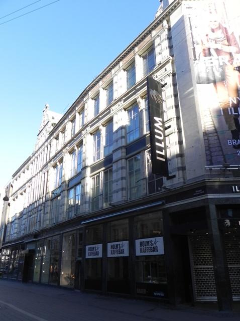Købmagergade 2-20 - Silkegade 4 - Pilestræde 1-13 - Østergade 52-60 - 10 - facaden til Østergade i retning mod Amagertorv