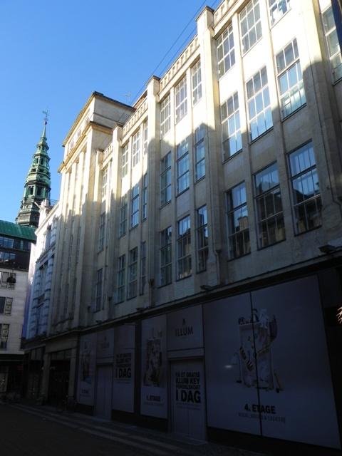 Købmagergade 2-20 - Silkegade 4 - Pilestræde 1-13 - Østergade 52-60 - 5 - facade til Pilestræde set mod Østergade