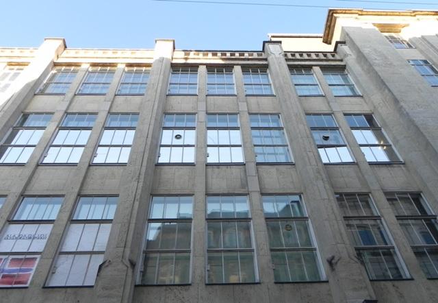Købmagergade 2-20 - Silkegade 4 - Pilestræde 1-13 - Østergade 52-60 - 6 - facade til Pilestræde set opad