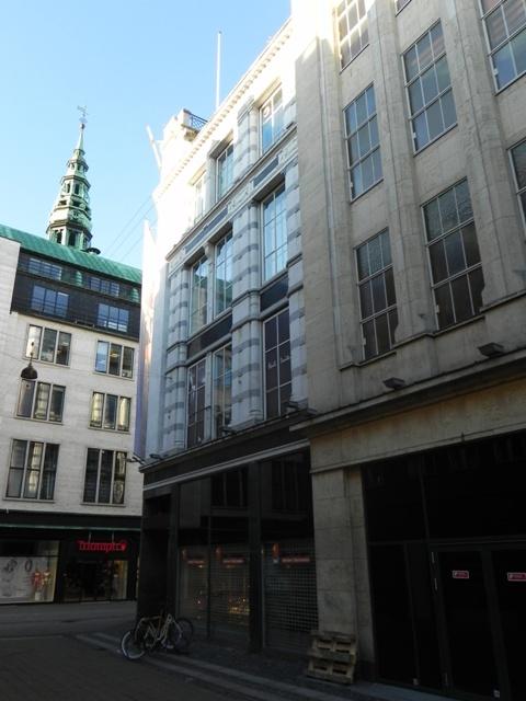 Købmagergade 2-20 - Silkegade 4 - Pilestræde 1-13 - Østergade 52-60 - 7 - facade til Pilestræde på hjørnet til Østergade
