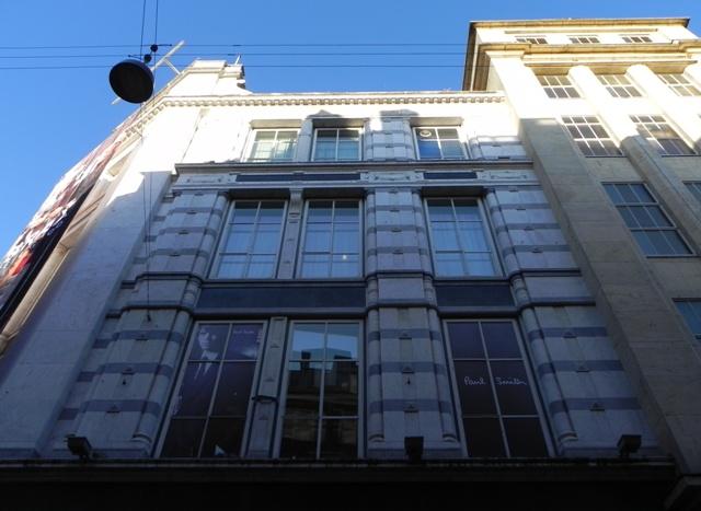 Købmagergade 2-20 - Silkegade 4 - Pilestræde 1-13 - Østergade 52-60 - 8 - facade til Pilestræde på hjørnet til Østergade