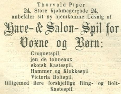 Købmagergade 24 - 5 - Annonce fra Illustreret Tidende nr.716, 15.juni 1873