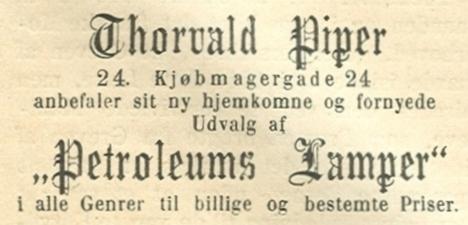 Købmagergade 24 - 6 - Annonce fra Illustreret Tidende nr.726, 24.august 1873