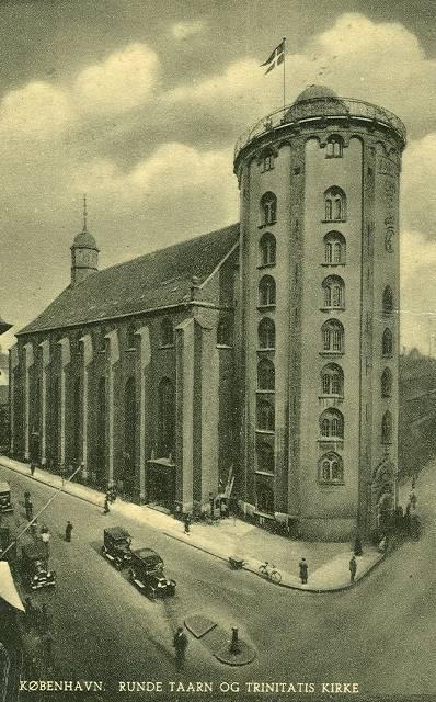 da rundetårn blev bygget