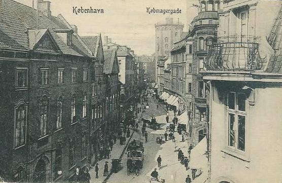 koebmagergade-set-fra-valkendorfsgade-postkort-fra-1908