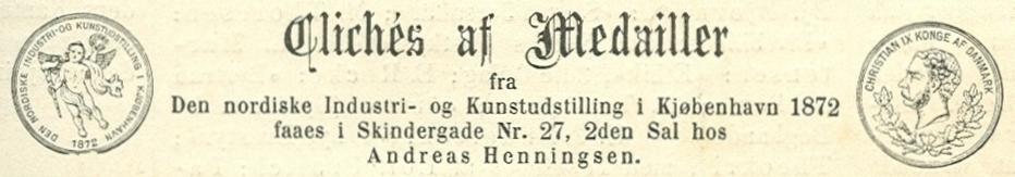 Klosterstræde 25 - Skindergade 27 - 5 - annonce fra Illustreret Tidende