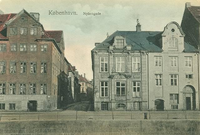 Knabrostræde 30 - Nybrogade 14 - 16 - postkort