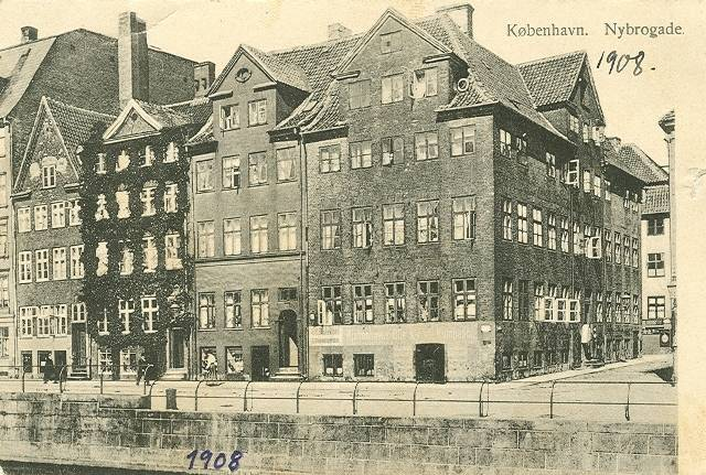 Knabrostræde 30 - Nybrogade 14 - 17 - postkort