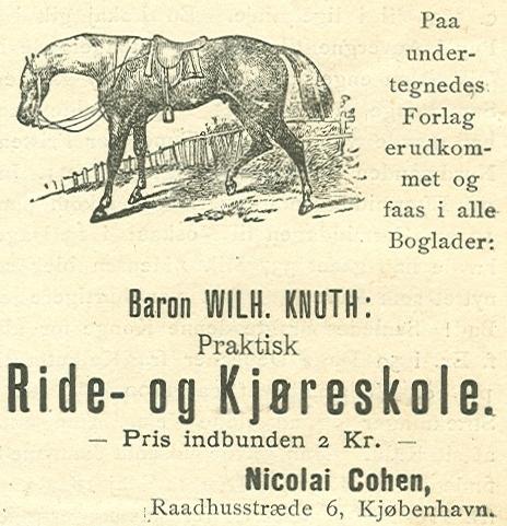 Kompagnistræde 30-32-32a-c - Rådhusstræde 6-6a-c - 7 - Annonce fra Illustreret Tidende nr.38, 19.juni 1887