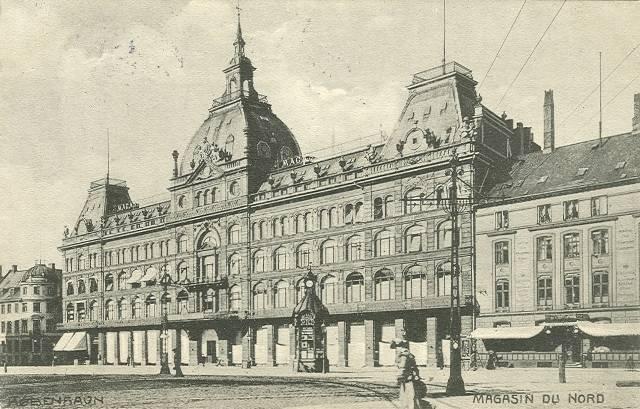Kongens-Nytorv-13-15-Vingårdstræde-4-6-Lille-Kongensgade-15-17- 36 - ældre postkort