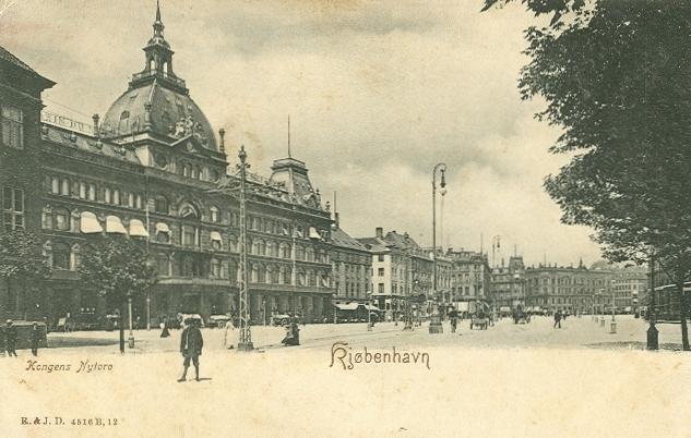 Kongens-Nytorv-13-15-Vingårdstræde-4-6-Lille-Kongensgade-15-17- 37 - ældre postkort